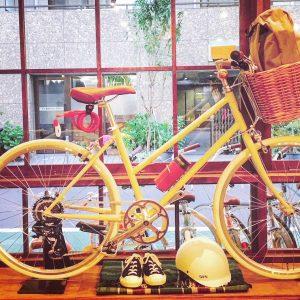 今日は自転車で移動しちゃう?毎日が楽しくなるアイテム、中目黒で発見!